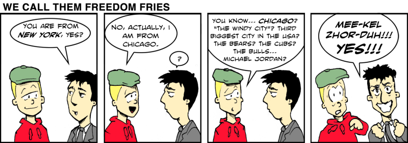 We Call Them Freedom Fries - Dec 27th, 2011