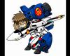 Super-Deformed Hikaru and VF-1A - Early 2000s