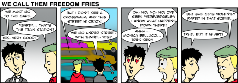 We Call Them Freedom Fries - Jan 9th, 2012