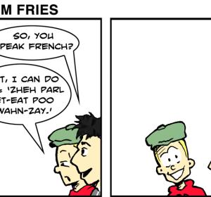 We Call Them Freedom Fries - Jan 13th 2012