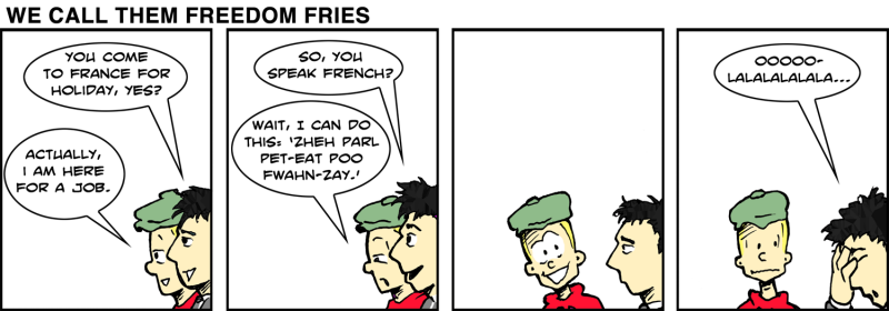 We Call Them Freedom Fries - Jan 13th 2012