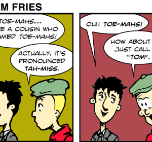 We Call Them Freedom Fries - Jan 16th, 2012