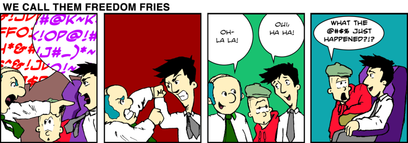 We Call Them Freedom Fries - Feb 2nd, 2012