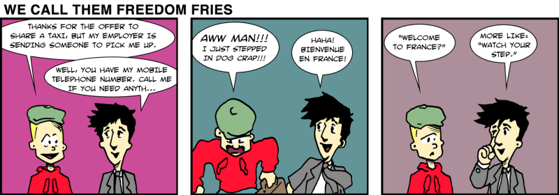 We Call Them Freedom Fries - May 8th, 2012