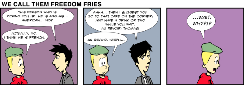 We Call Them Freedom Fries - May 12th, 2012