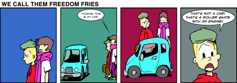 We Call Them Freedom Fries - May 29th, 2012