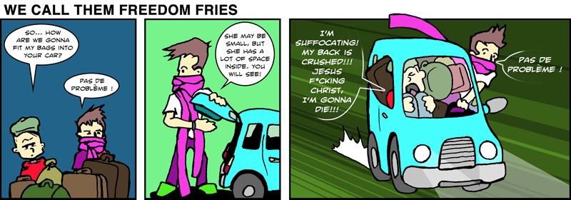 We Call Them Freedom Fries - July 5th, 2012