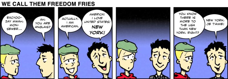 We Call Them Freedom Fries - Dec 19th, 2011