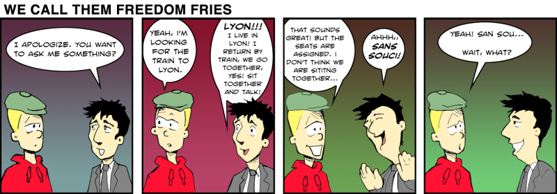 We Call Them Freedom Fries - Dec 30th, 2011